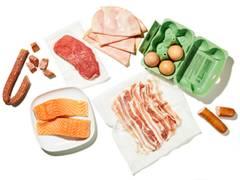 Poissons, viande & œufs