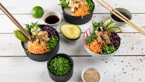 Poket bowl au tofu