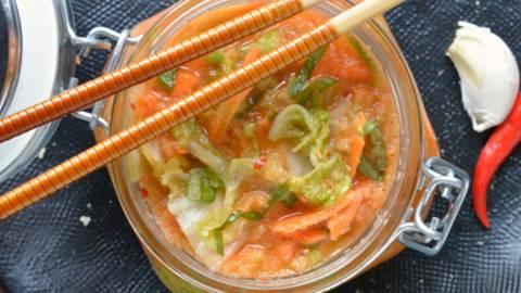 Kimchi simple et rapide