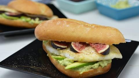 Sandwich au carrelet