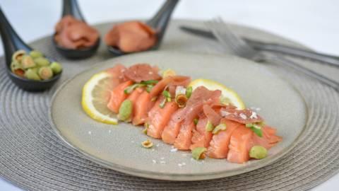 Filet de saumon fumé