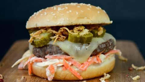Le cheeseburger Lidl