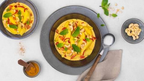 Curry de pommes de terre aux pommes et au piment