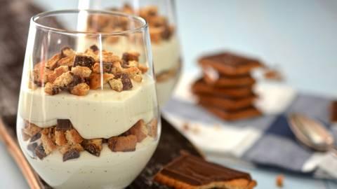 Trifle aux petits beurre au chocolat