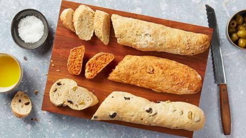 Baguettes méditerranéennes