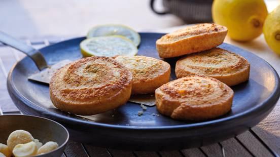 Escargots citron-noix de macadamia