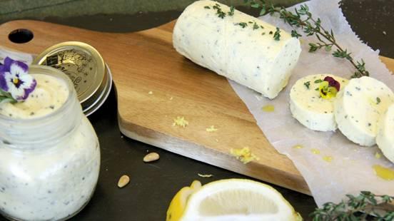 Beurre au citron et au thym