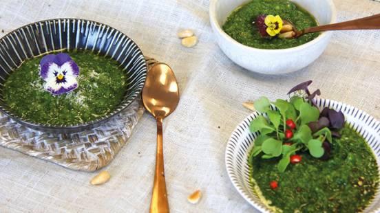 Pesto à la ciboulette