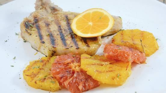 Côtelettes de porc à l'orange