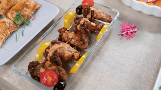 Family Food Fight: ailes de poulet