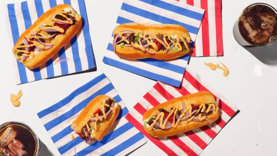 Hot-dogs aux brochettes