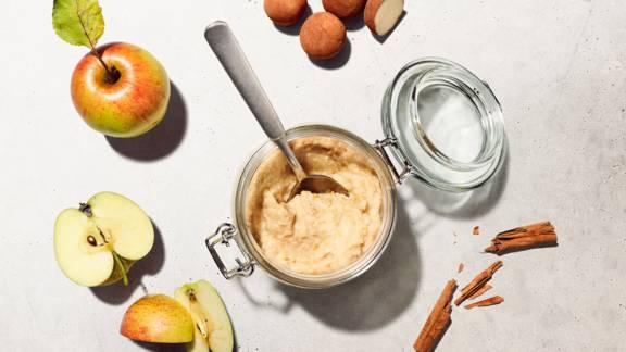 Confiture de pommes et massepain