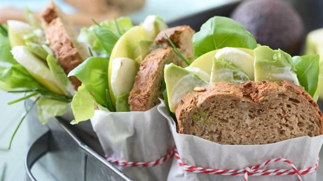 Sandwiches au pain multicéréales
