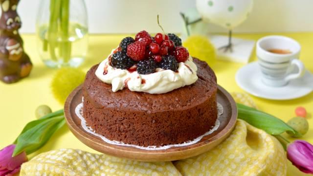 Gâteau au chocolat et au vinaigre balsamique de Röteli