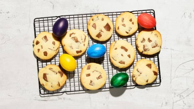 Cookies à base de lapin en chocolat