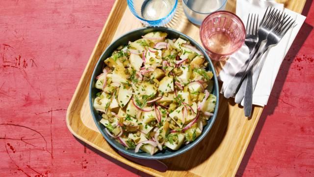 Salade de pomme de terre à la viennoise