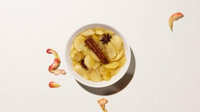 Pommes à l'aigre-douce