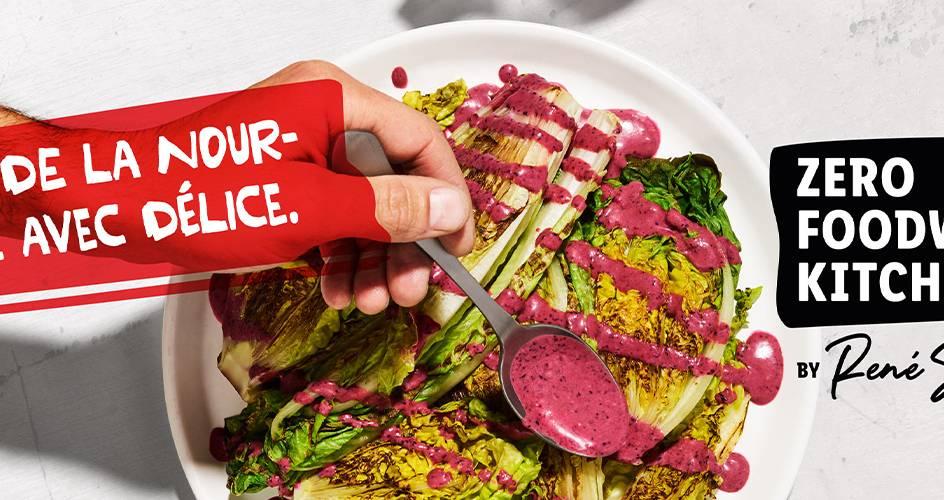 Salade rôtie, sauce aux myrtilles – Zero Foodwaste Kitchen