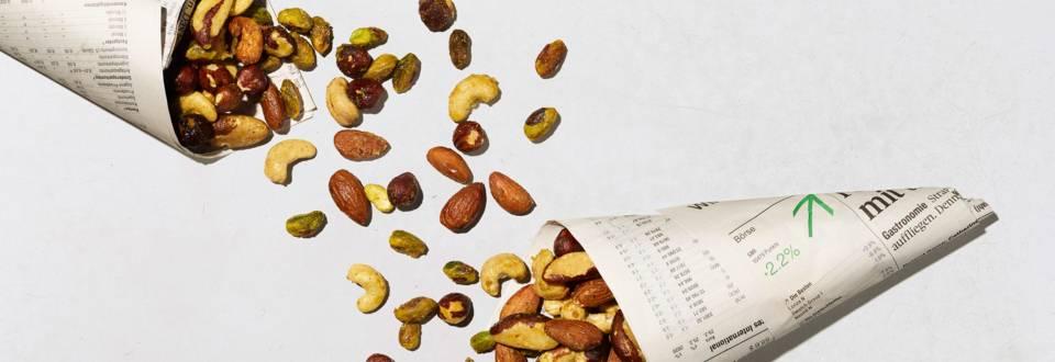 Fruits à coque épicés