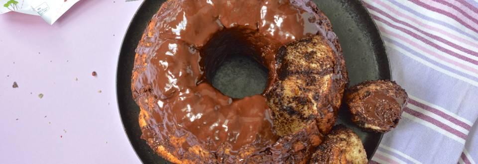 Monkey bread au chocolat