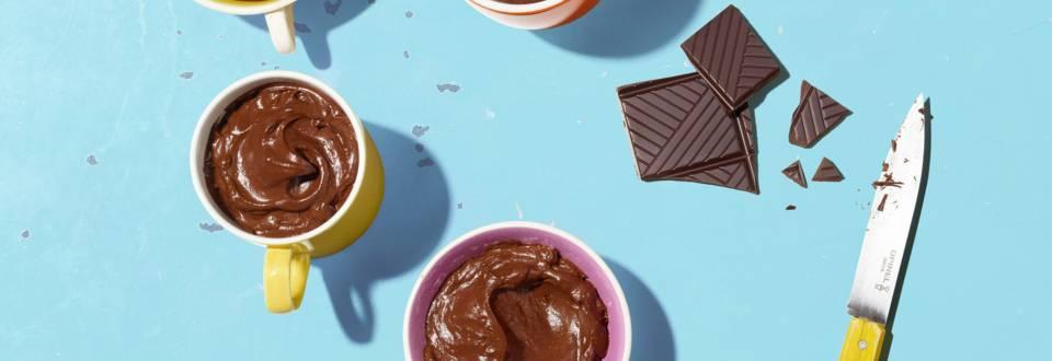 Mousse avocat-chocolat