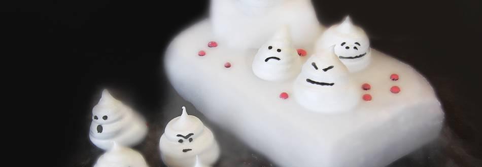 Fantômes en meringue à croquer