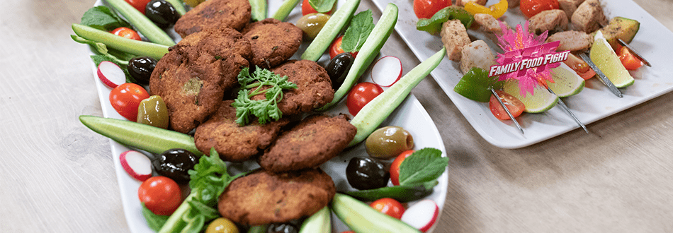 Family Food Fight: Kebab shami mahie (à base de thon)
