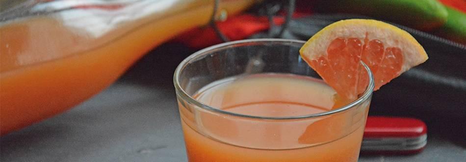 Boisson énergisante gingembre-menthe