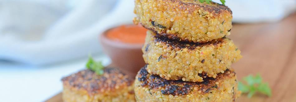 Galettes au quinoa