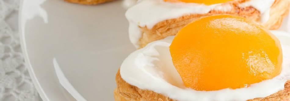 Gâteaux œufs au plat
