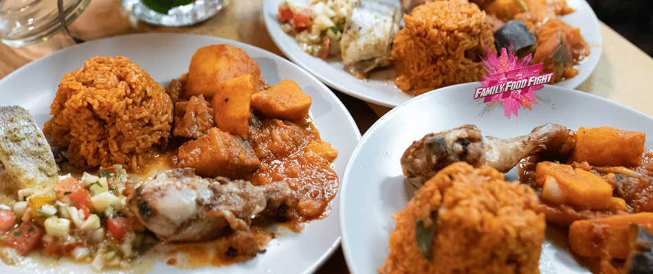 Family Food Fight: Thiebou Dienne / Yapp