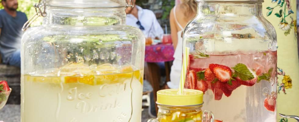 Limonade d'été rafraîchissante